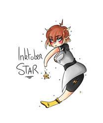 [TLA] Inktober 8 - Star by RosesNo