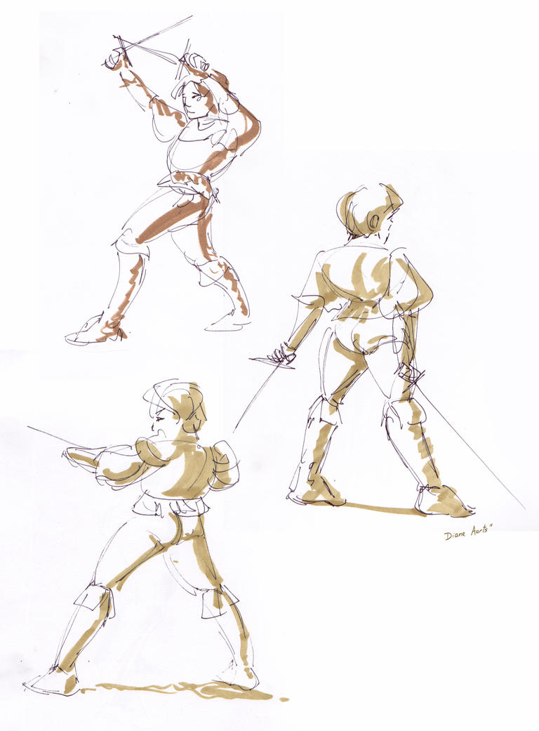 prince charming- gestures by Di---Chan