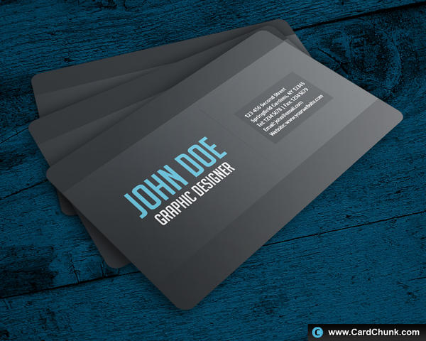 Simple Business Card by cardchunk