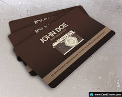 photography business card by cardchunk