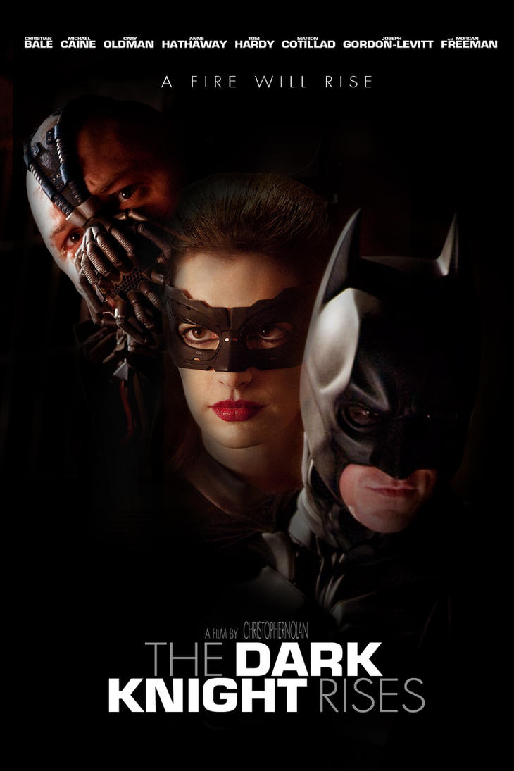 the dark knight rises free