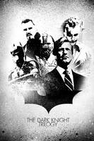The Dark Knight Trilogy by KanomBRAVO