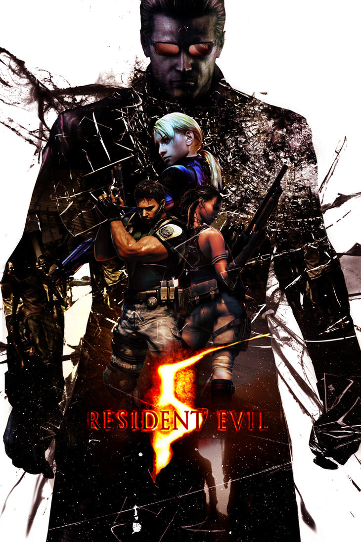 Resident Evil 5 Poster by KanomBRAVO