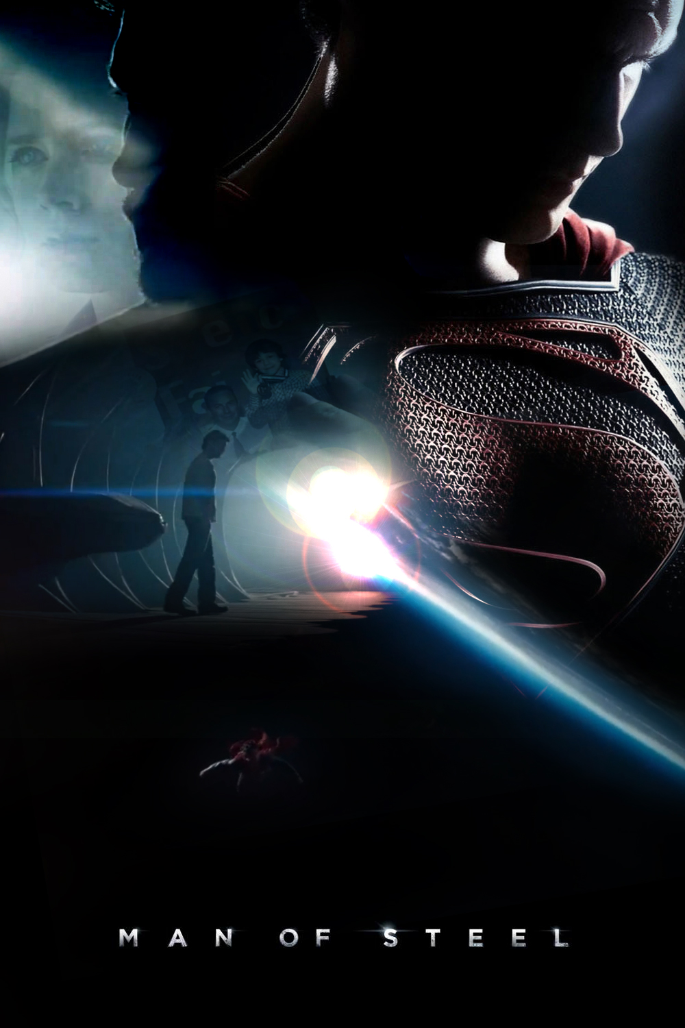 Man of Steel Poster [Poster Fanmade] by KanomBRAVO
