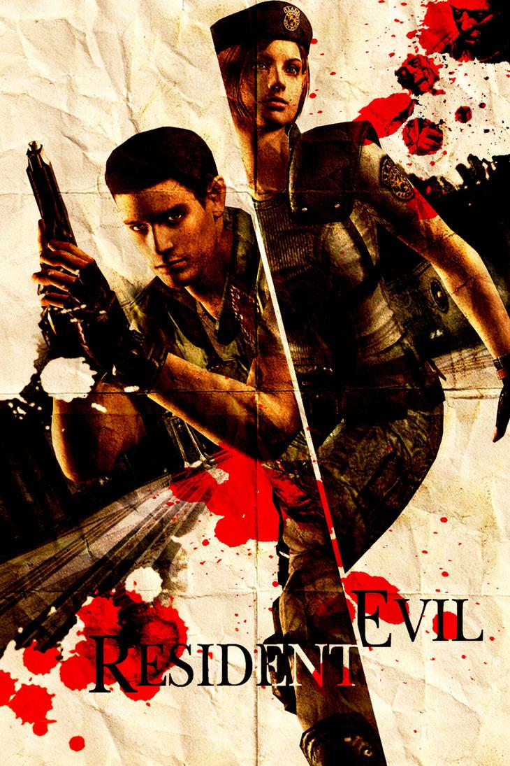 Resident Evil 1 Poster by KanomBRAVO
