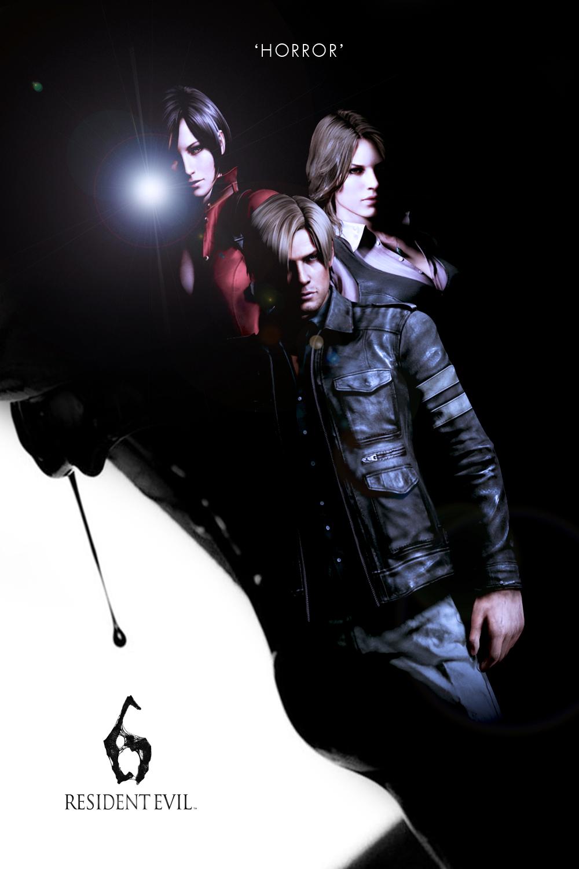 Resident Evil 6 Poster Fanart Leon Story By Kanombravo On Deviantart