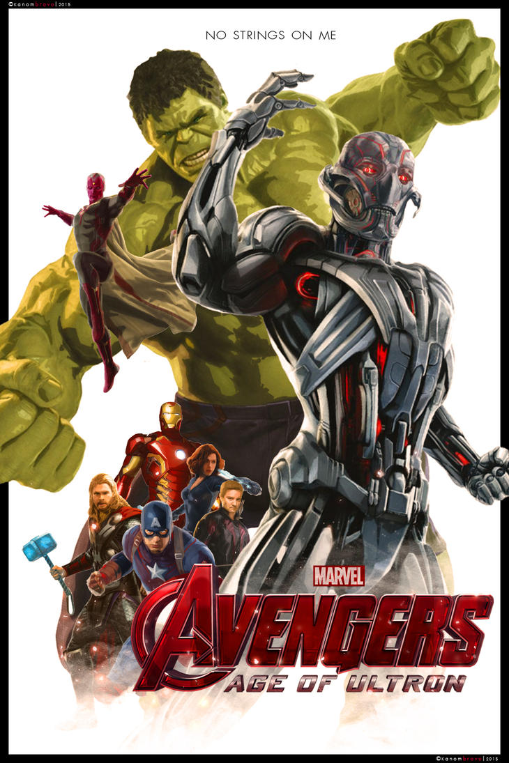 The Avengers: Age of Ultron by KanomBRAVO