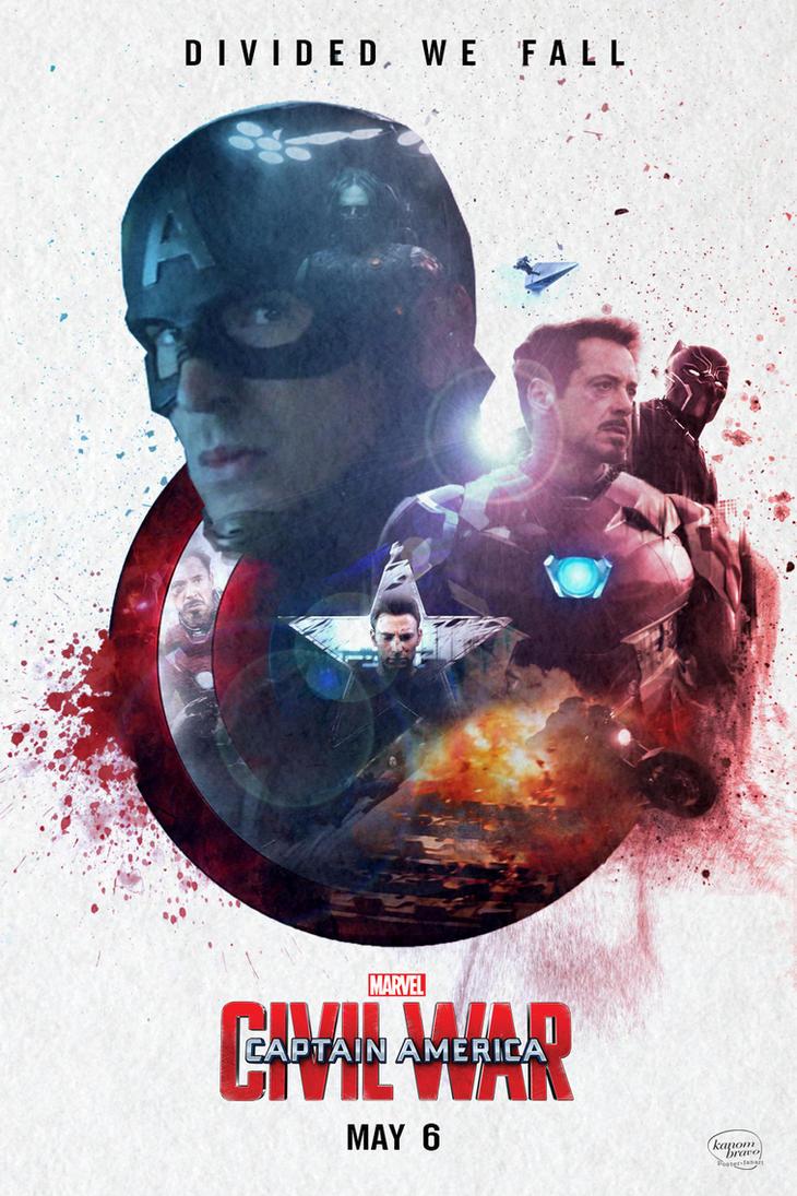 Captain America: Civil War by KanomBRAVO
