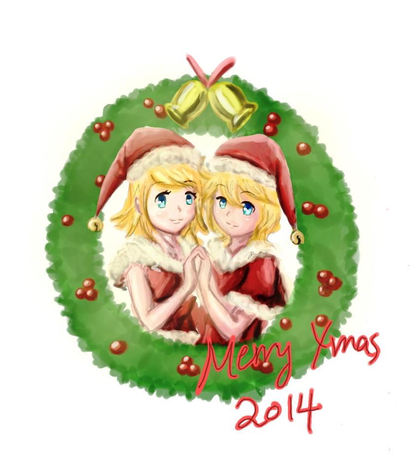 Merry Xmas 2014 by ilooovejirachi