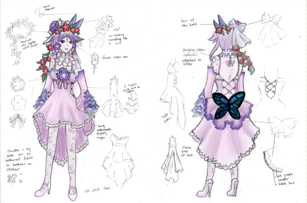 Arianrhod Cosplay Concept by ilooovejirachi