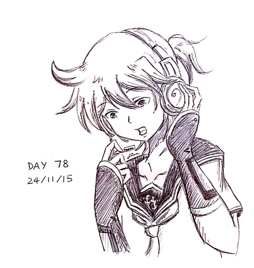 Day 78 by ilooovejirachi