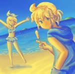 Summer Palette Challenge by ilooovejirachi