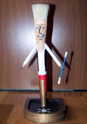 Guybrush Out Of Brush #1