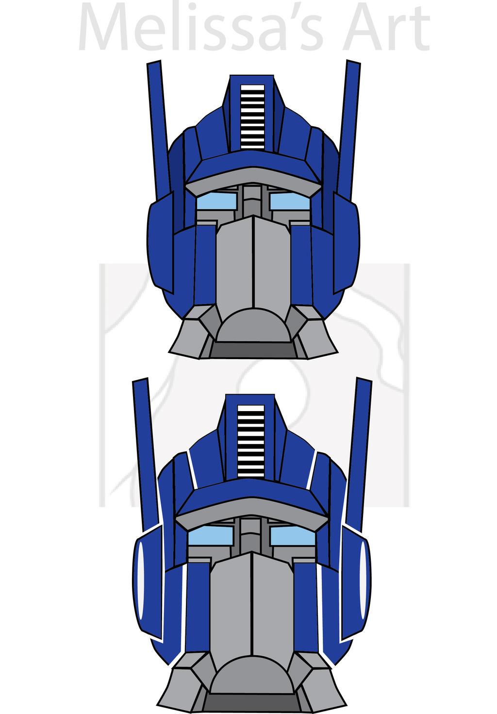 Optimus Prime Logo Vector