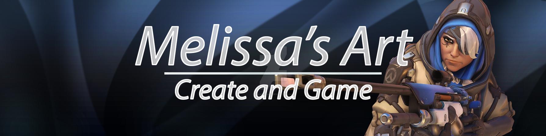 My Stream Banner by Melissas-Art