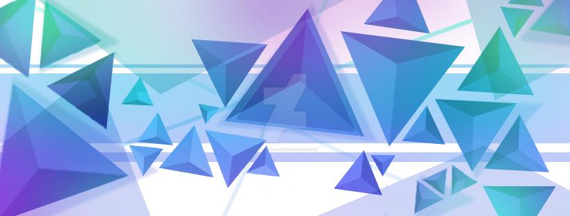 Facebook Banner 2d Abstract Design by Melissas-Art