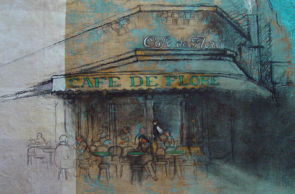 Cafe de Flore II by rpintor
