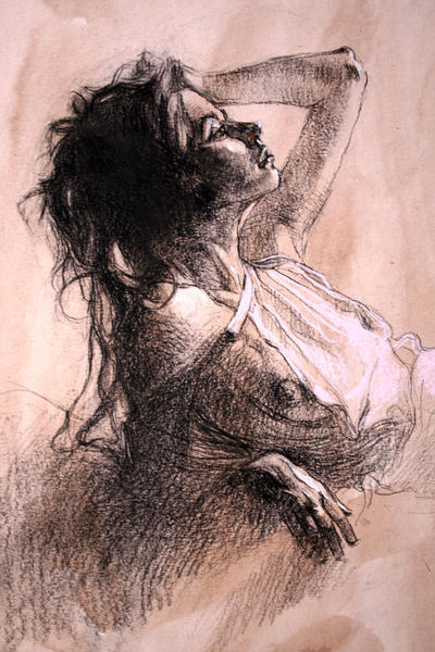 Estudio de mujer by rpintor