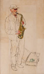 Musician 1 by rpintor