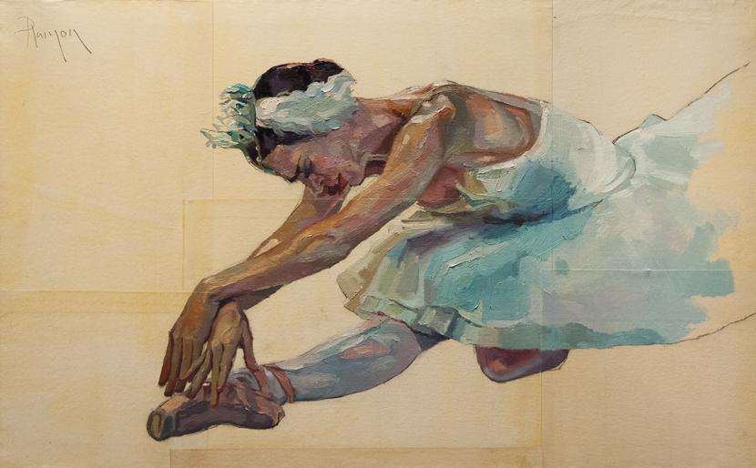 En puntas y a volar - Página 5 Ballet_ix_72_61x38cm_by_rpintor-d6kcusz