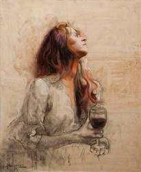 Copa de vino by rpintor