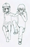 Sketch Stan x Kyle by Meitoku