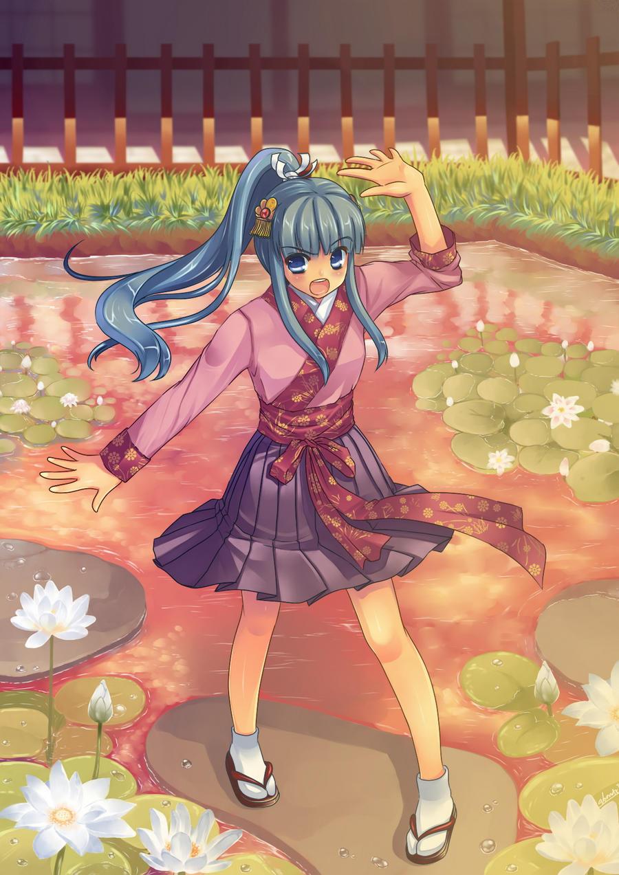 commission: Seiryu Izayoi by abondz