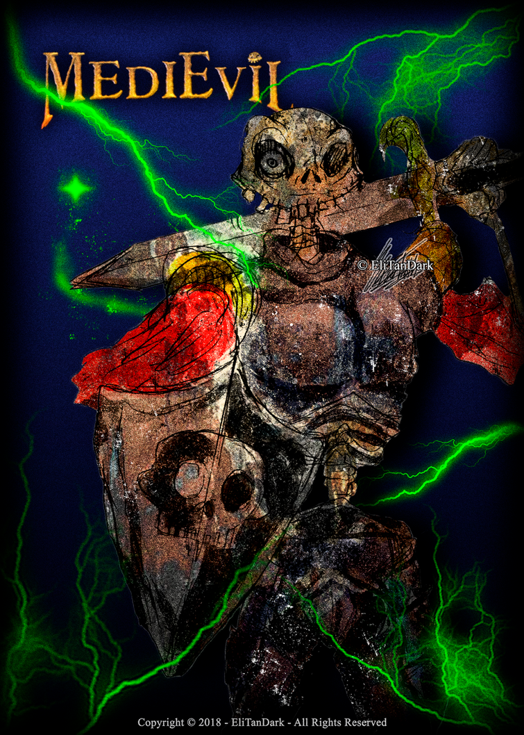 MediEvil - Sir Daniel Fortesque #205 by EliTanDark