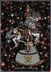 Carousel horse #210 by EliTanDark