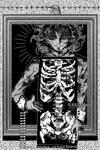 #14 Bones / Huesos (Inktober 2019) by EliTanDark