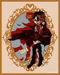 Hanako-kun as The Phantom of the Opera by EliTanDark