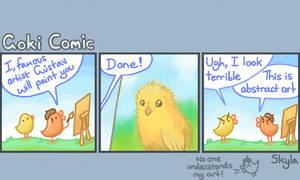 Goki Comic - Abstract Chick by SkylaComics