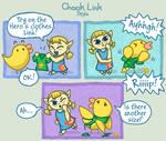 Chook Link - Tights by SkylaComics