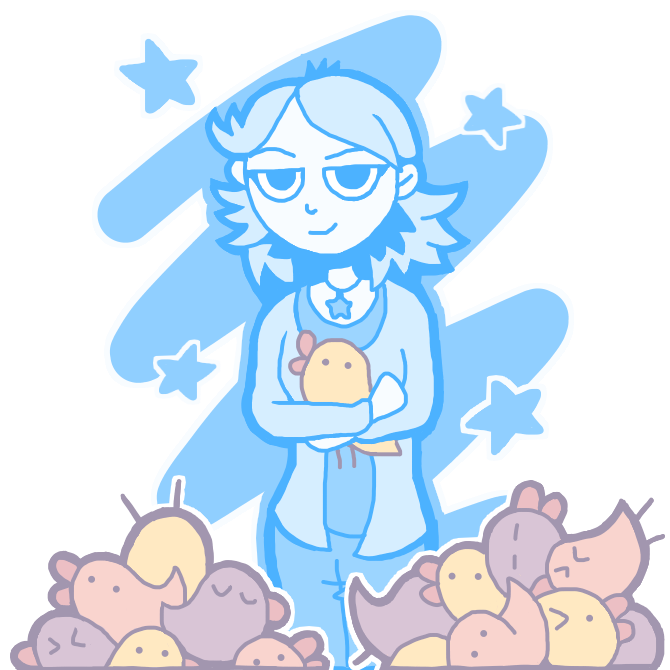 Self Portrait with Chicks