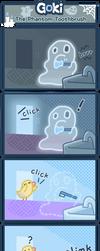 The Phantom Toothbrush by SkylaComics