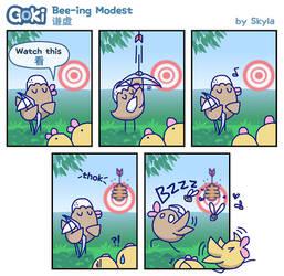 Goki - Bee-ing Modest by SkylaComics