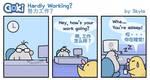 Goki - Hardly Working? by SkylaComics