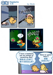 Goki - Headache by SkylaComics