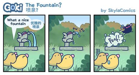 Goki - The Fountain? by SkylaComics