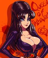 Queen of Halloween by tacozama