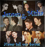 Jensen and Misha by Destiel-Wincest