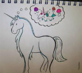Unicorn for 5ande by Pherrett