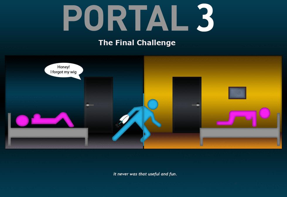 Porn portal 2 glados