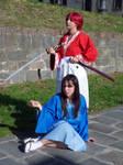 Kenshin and Megumi