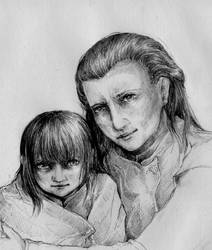 Lirela and Tara by VivianaStellata