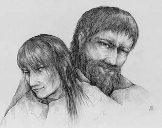 Dala and Levcik by VivianaStellata
