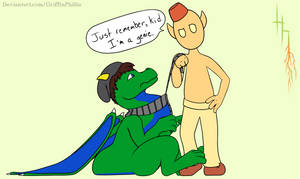 Just Remember, Kid. I'm a Genie.