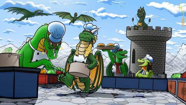 Overcooked - Dragon Edition!