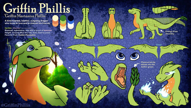 Griffin Phillis 2020 Reference Sheet
