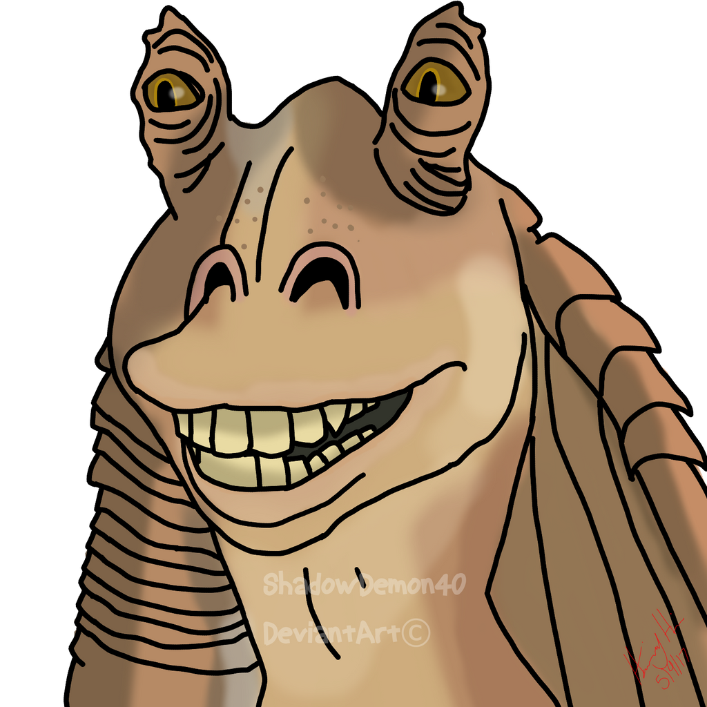 May The Fourth Be With You Transparent: Jar Jar Binks By ShadowDemon40 On DeviantArt